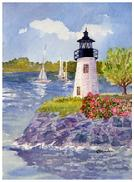link to lighthouse and ocean paintings